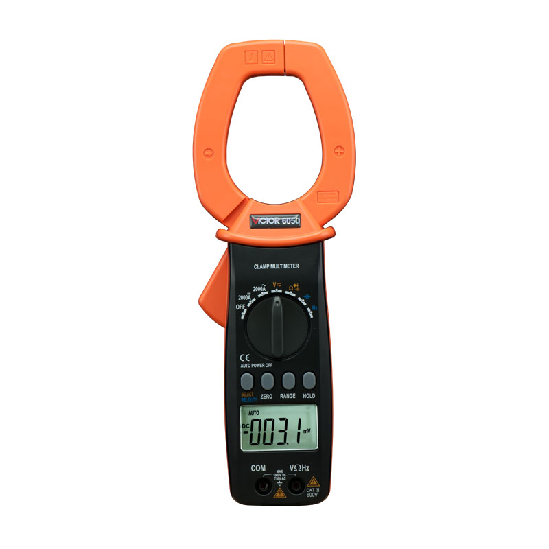 DM6050 digital multimeter VICTOR 6050 clamp meter victor 6050 digital clamp meter