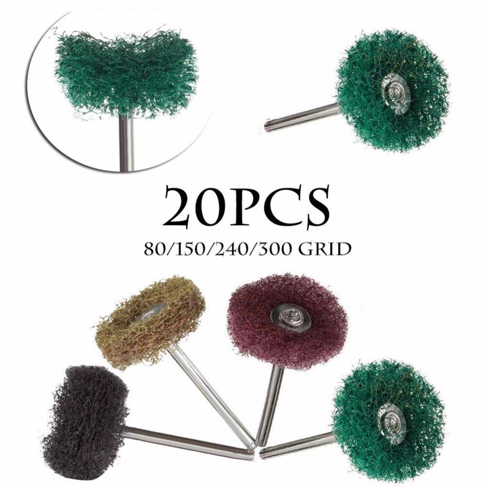 20PCS Buffers Polishers Abrasive 1