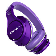 Bluedio U(UFO)High-End Genuine Bluetooth headphone Patented 8 Drivers/3D Sound/Aluminum alloy/HiFi Over-Ear wireless headset