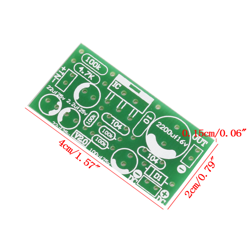 TDA2030A 9-24V Audio Power Amplifier Board Module DIY Kits Components 18W 4-8 ohm
