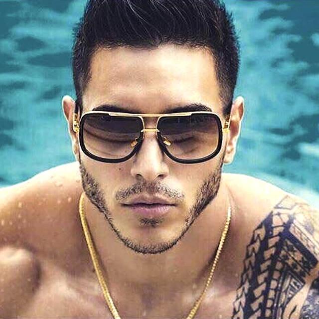 2017 Oversize Óculos Quadrados SPLOV Superstar Celebridade óculos de Sol  Masculino Óculos de Condução Das Mulheres b335888f31