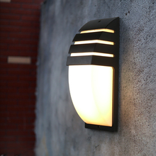 Oreab 10w IP65 Waterproof Outdoor Wall Lamp Motion Sensor Light Control 3 Light Colors Changeable Exterior Landscape Lights 220V