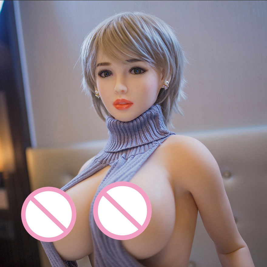 <font><b>170cm</b></font> <font><b>Sex</b></font> <font><b>Dolls</b></font> Real Silicone Adult Product <font><b>sex</b></font> Love <font><b>Dolls</b></font> With Skeleton Soft Skin Big Breast for men <font><b>sex</b></font> machine mannequin image