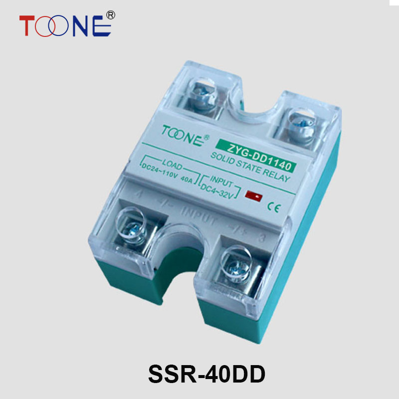 SSR-40DD 40A Solid State Relays 40A SSR 3-32V DC to 5~220V DC Relay Module for PID Temperature Controller DC - DC SSR 40A SSR-40 single phase relays solid state 16a 3 32v dc to 24 480v ac module relays ssr 16da wholesale retail ks1 16da no contact