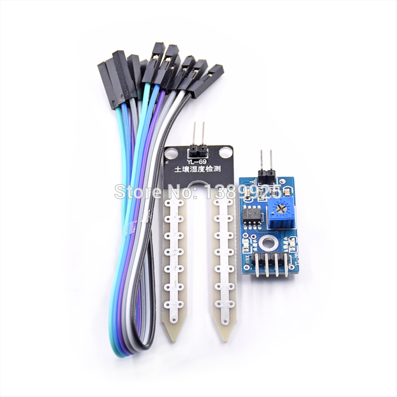 Soil Hygrometer Humidity Detection Module Moisture Water Sensor Soil Moisture