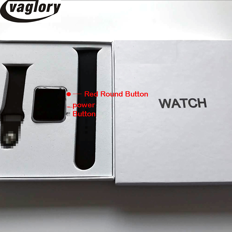 IWO 5 Smartwatch 42 mm case Bluetooth Smart Watch for IOS Phone & Android Phone Support SMS Facebook Whatsapp synchronization