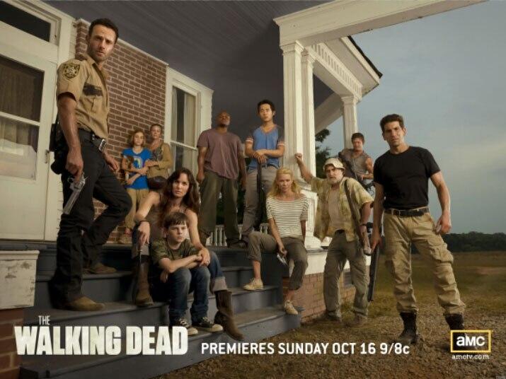 The Walking Dead Выживших Сериал Cast Art Огромный Печати Плаката TXHOME D5990