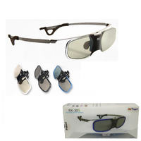5pcs Shutter 3D Glasses DLP Glasses For BenQ Z4 H1 G1 P1 Compatible 96 144HZ DLP