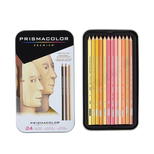 prismacolor premier skin tones colored pencils portrait set soft