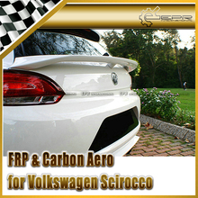 Car-styling For Volkswagen Scirocco ABT Style Carbon Fiber Trunk Spoiler