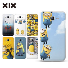 For fundas Samsung Galaxy J7 Cute Minions hard PC cover for coque Samsung Galaxy J7 2016 new arrivals for case Samsung J7