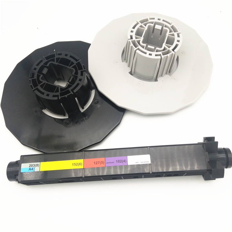 enikshop For <font><b>Epson</b></font> <font><b>D700</b></font> Rollfeed Spindle Rod Assembly Paper Spindle Unit For Fujifilm DX100 printer image