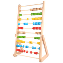 New Wooden Baby Toys Montessori Calculating Rack Baby Educational Toys