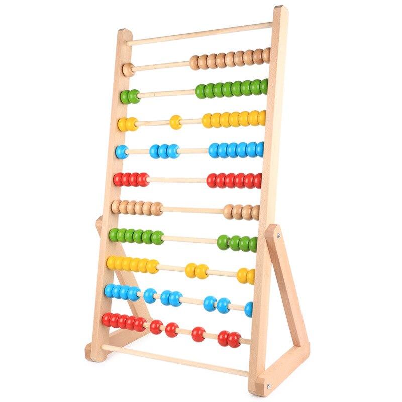 Nouveaux jouets en bois pour bébé Montessori calculant des jouets éducatifs pour bébé