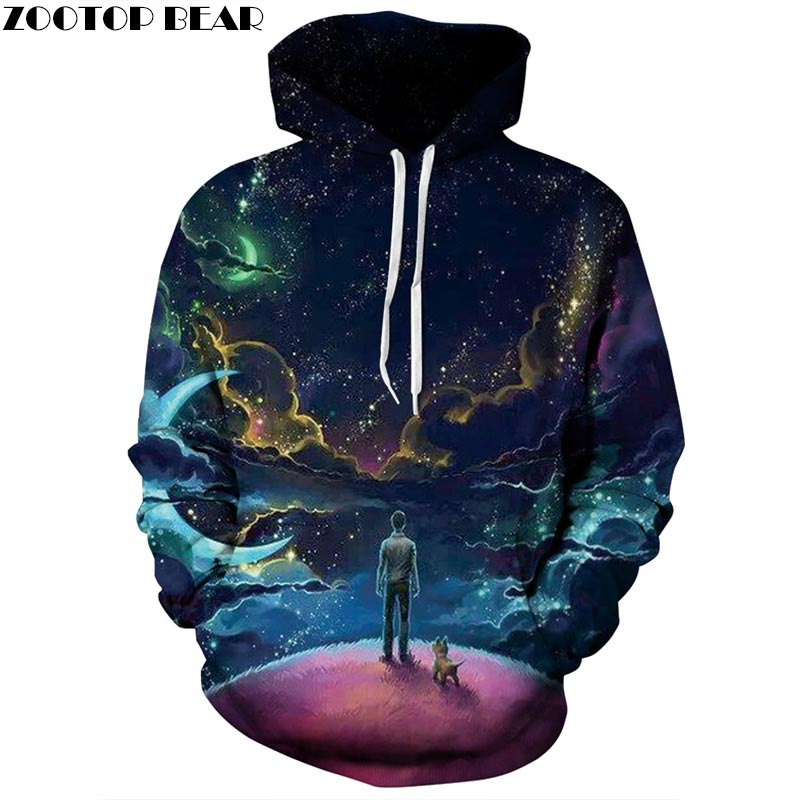 Hot Sale 3d Printed Hoodies Men Women Sweatshirts Unisex Hooded Pullover Autumn Winter 6XL Tracksuits Pocket Male ZOOTOP BEAR ...