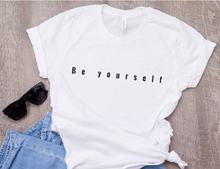 Camiseta seja você mesmo camiseta seja você mesmo camiseta streetwear moda tumblr acreditar em si mesmo authentic você citar