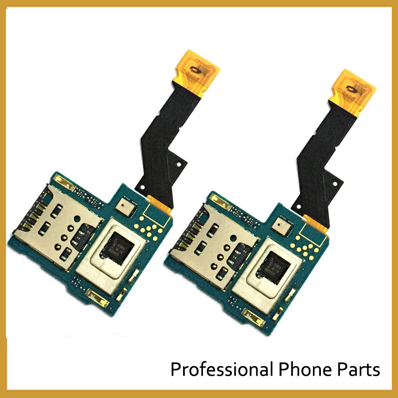 New Original Sim Card Reader Holder Slot Tray Flex Cable For Sony Xperia S LT26 LT26i Replacement Parts