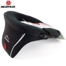 Koruyucu SCOYCO motosiklet boyun koruyucu yüksek kaliteli spor dişli uzun mesafe yarış koruyucu boyun Brace Motocross N03