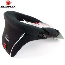 Protective SCOYCO Motorcycle Neck Protector High Quality Sports Gear Long Distance Racing Protective Neck Brace Motocross N03