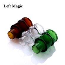 3 Pcs/Lot Vanish Bottle Magic Tricks Three Color Plastic Vanishing Wine Props Close Up Stage Accessor