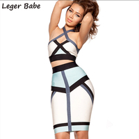 2019 Summer Women Suit Crisscross Bandage Two 2 Piece Set Sleeveless Strapless Sexy Casual Party Suit Set Solid Shorts Vestidos