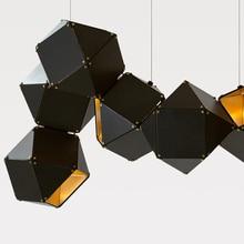 Modern LED chandelier Nordic floating lamp loft deco lighting fixtures living room hanging lights bedroom pendant fixtures
