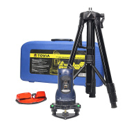 TOVIA Laser cast instrument 2 Line 1 Point 360 degrees rotary 650nm Tripod Laser Level construction tools