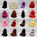 Блит кукла diy головы парик для симпатичные блайт кукла аксессуары больше цветов куклы волосы