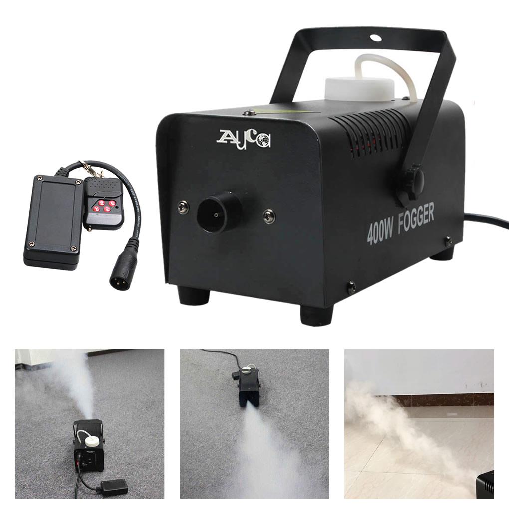 Remote Control 400W Atomizador Smoke Fogging Machine Disco DJ Party Wedding Stage Effect Desinfectant Fog Machine Thrower