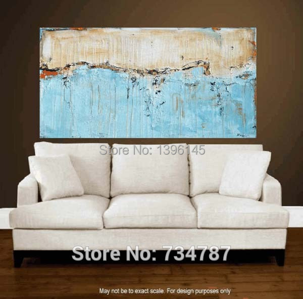 Modern Abstract Art Painting Kitchen Landscape Wall Living Room Pictures  Hand Painted Home Decoration Large Canvas Part 23