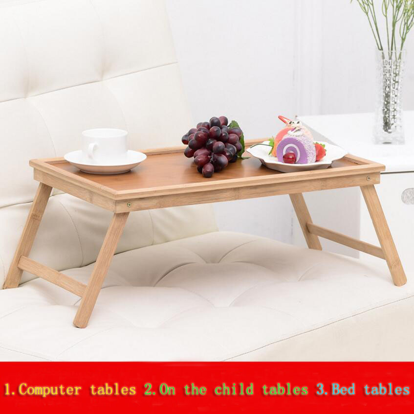 High Quality Thicken Computer Desk Writing Desk Foldable Household Sofa Bed Tray Notebook Laptop Desk Learning