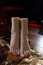 Sexy Vivid Silicone Lifesize Female Mannequin Foot Shoes Display Model Prop Size 38 hot sales vivid life size skull model