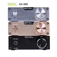 SMSL SA 98E Усилители TDA7498E 160 Вт * 2 класса D высокого класса супер HiFi аудио цифровой Мощность Усилители домашние AMP с высоким Адаптеры питания новы