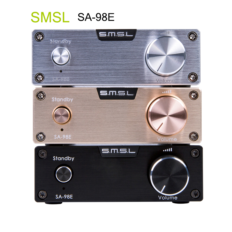 все цены на SMSL SA-98E Amplifiers TDA7498E 160W*2 Class d High-end Super HIFI Audio Digital Power Amplifier AMP With High Power Adapter New онлайн