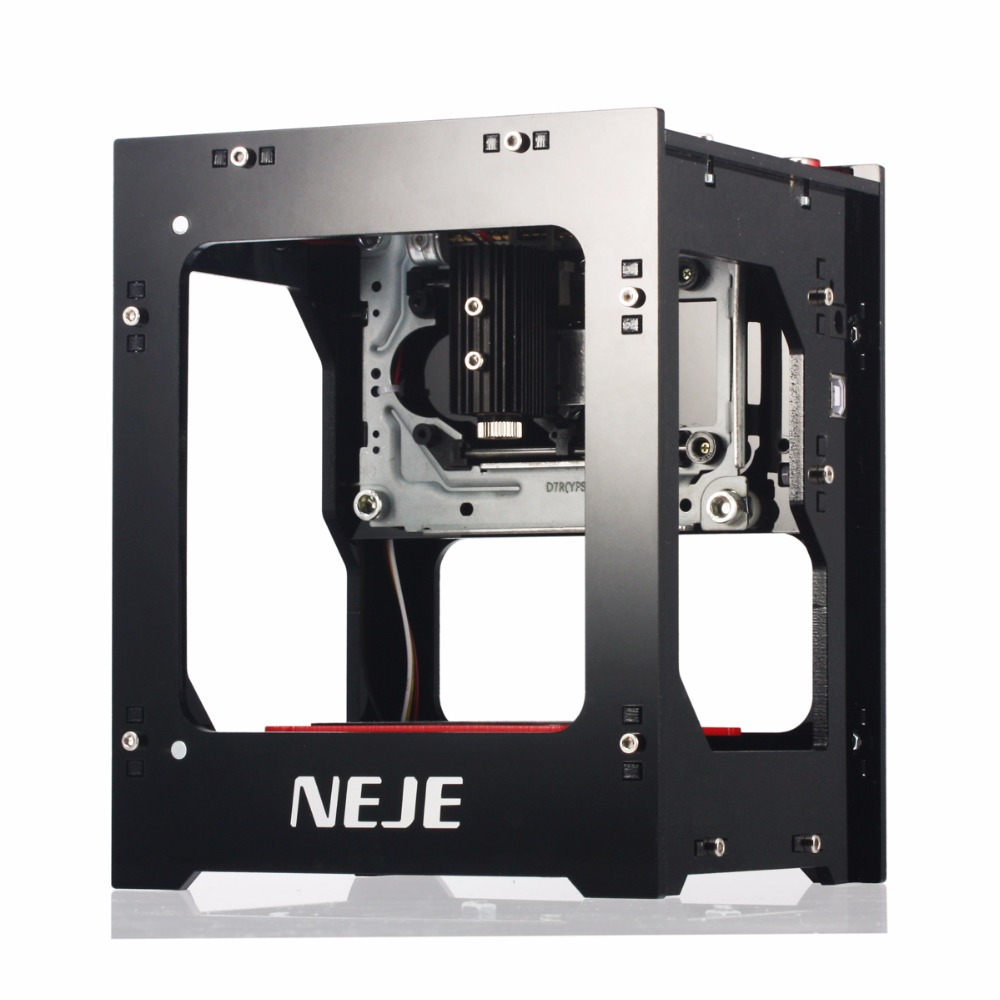 NEJE 1000mW router cnc laser cutter DIY Print laser engraver High Speed USB laser cnc Engraving Machine with Protective Glasses 1500mw cnc router usb laser engraver laser cutter diy laser engraving machine automatic off line operation protective glasses