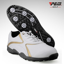 PGM Waterproof Golf Shoes For Men Anti-Skid Spike Sports Sneakers Platform Golf Footwear Men Breathable Golf Shoes Free Shipping