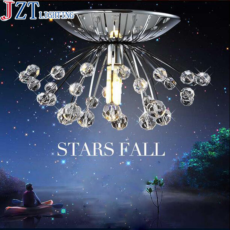 M Best Price Dia15cm Character Design Creative Dandelion Crystal Small Stainless Steel Ceiling Aisle Porch Lamp 66002 best price best promotion stainless steel petty cash money box security lock lockable metal safe small fit for home office