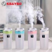 300ML Ultrasonic Humidifier USB Car Humidifier Mini Aroma Essential Oil Diffuser Aromatherapy Mist Maker Home Office