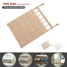 Wardrobe Nail Free Stretchable Storage Rack Layered Partition Board Separator Holders & Racks New