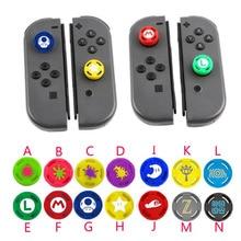 Silikonowy uchwyt na kciuki czapki analogowy Joystick pokrywy skrzynka dla Zelda Mario przełącznik do nintendo Lite NS Mini kontrolery Joy Con Joypad