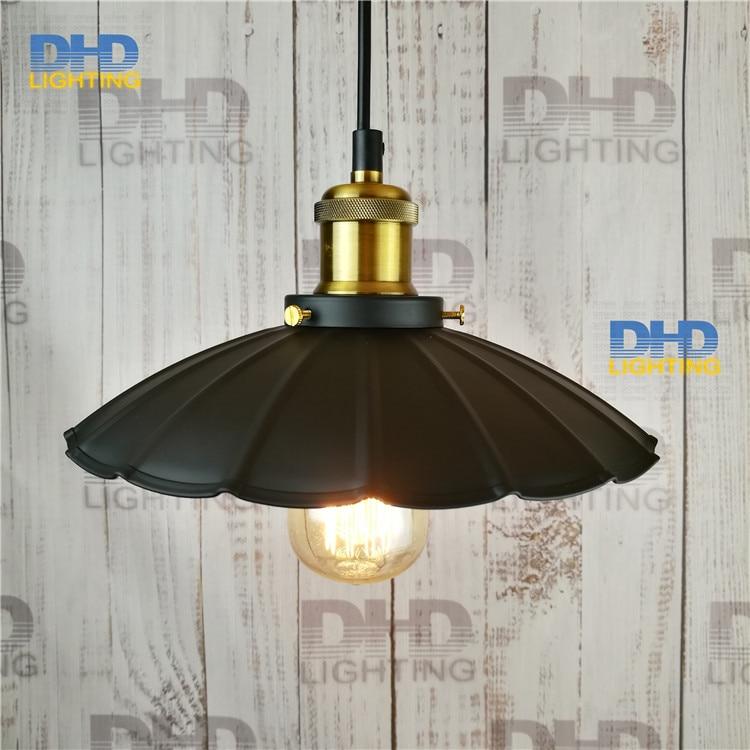 Free shipping one sample order edison pendant lamp iron vintage black finished E27 brass holder 250mm pendant light ph tester accept sample order