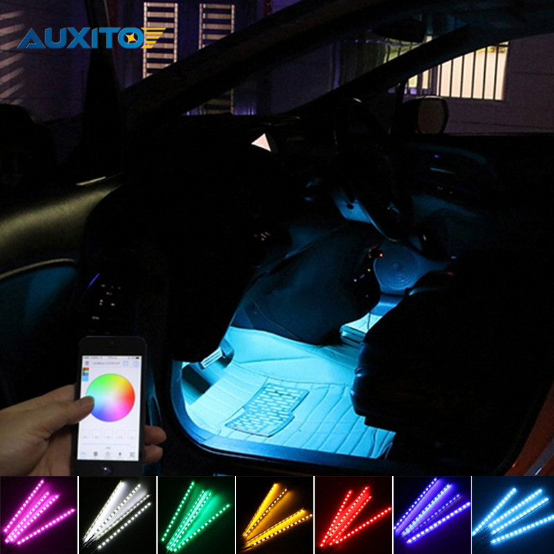 Phone APP Control Atmosphere Decoration Light For Chevrolet Cruze Aveo Lacetti Captiva Cruz Spark Orlando Epica Sail Sonic Corsa chevrolet orlando в уфе