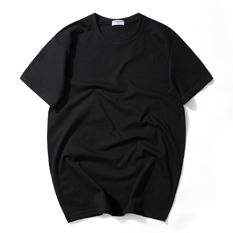 M-7XL Plus Size T shirt Men Soild t-shirts