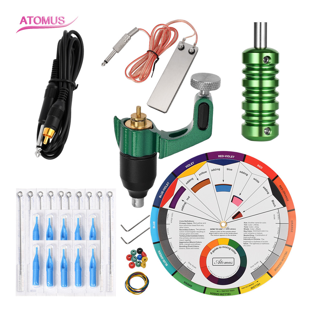 Profissional Iniciante Rotary Tattoo Professional Kits Machine Tools Set Tattoo Best Kit Tatuar Profesional Pen Maquina TatuagemProfissional Iniciante Rotary Tattoo Professional Kits Machine Tools Set Tattoo Best Kit Tatuar Profesional Pen Maquina Tatuagem