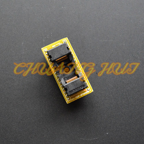 CNV-TSOP-EP1M32 (S) Программист Адаптер TSOP32 dip32 Адаптер тестовые гнезда Чип длина = 12.4 мм/14 мм
