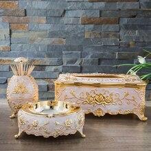 Коробка для салфеток, чехол для бумажных салфеток, металлический держатель, стол для салфеток, автоматический диспенсер, зубочистка, пепельница для домашнего декора, TZ010-B