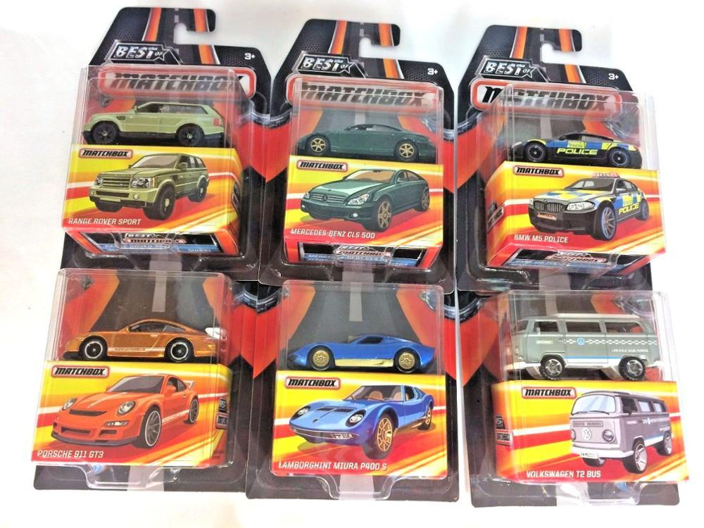 2019 Matchbox Car 1:64 Sports Car VOLKSWAGEN BENZ PORSCHE Collector Edition BEST OF Metal Diecast Model Car Kids Toys Gift