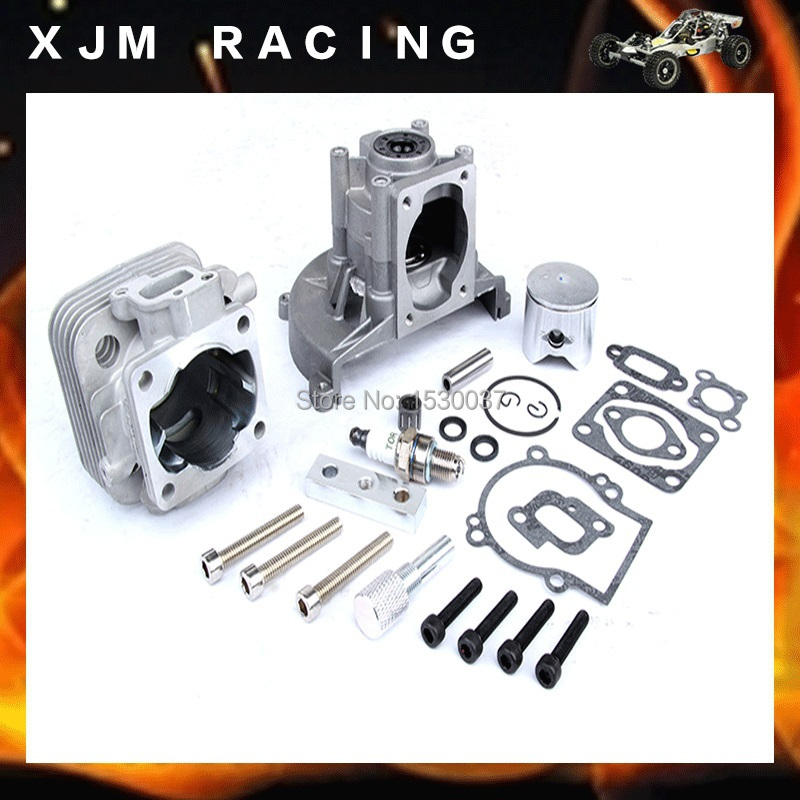 Engine parts 29cc upgrade cylinde kit four bolt head free shipping