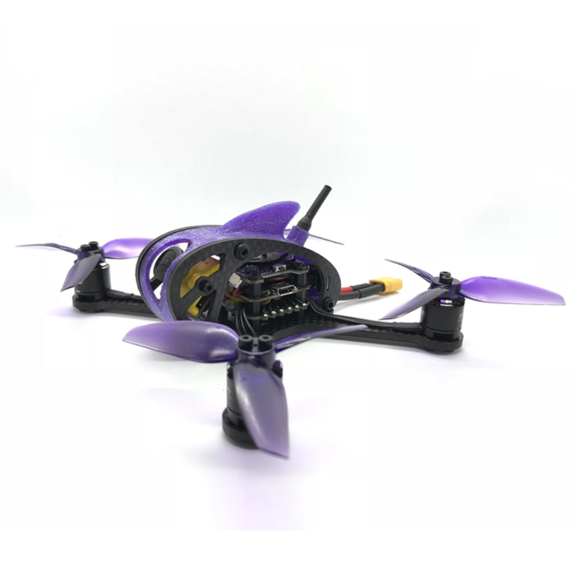 Leader3/3SE 130mm FPV Racing RC Drone Mini Quadcopter F4 OSD 28A BLHeli_S 48CH 600 mw Caddx Micro f1 PNP/BNF pour FRSKY FLYSKY