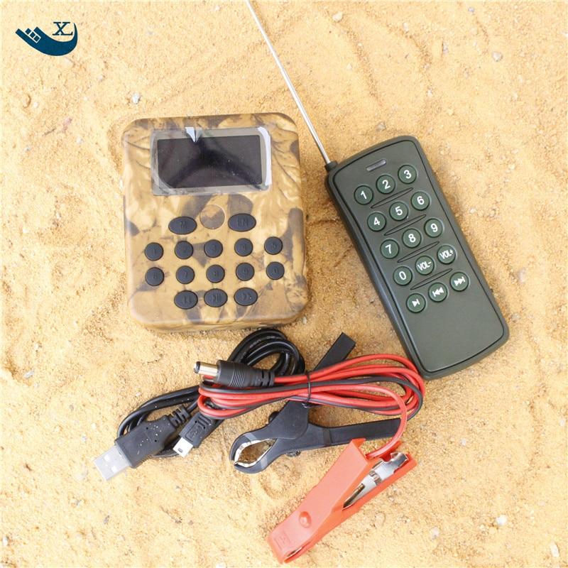 200 Bird Sounds 50W Speaker Device Digital Hunting Mp3 Bird Caller Electronic Bird Callers With Timer outdoor desert electronlic hunting bird callers with 30w lound speaker